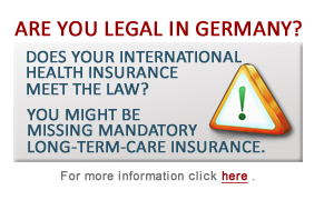 Have you been a German resident for longer than 60 months but still with mandatory Long-Term Care insurance? If yes, click here and make your self legal.